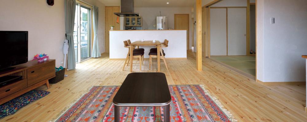 木造健康住宅で安心の子育て。自然素材に包まれて快適に暮らす