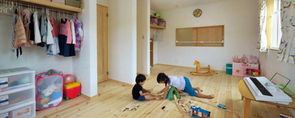 木造健康住宅で安心の子育て。自然素材に包まれて 快適に暮らす