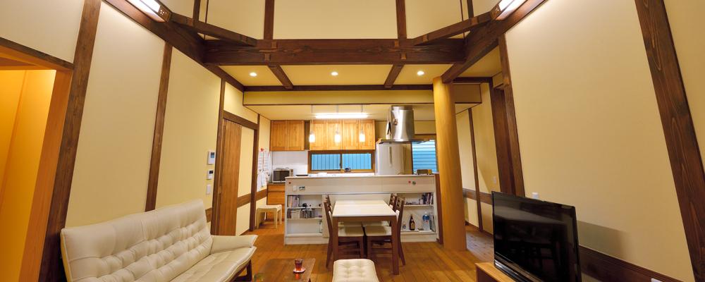 自然素材で風通し良く。居心地の良い木の家