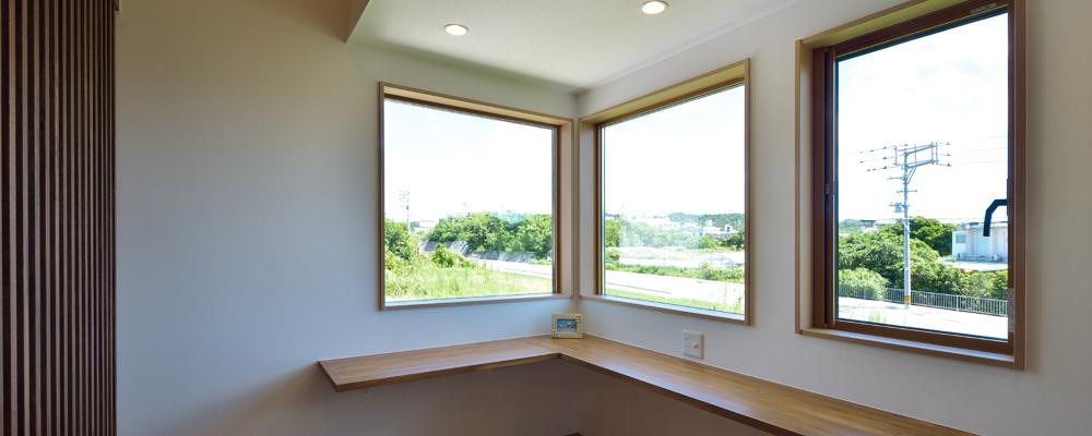 フランク・ロイド・ライトの設計思想を取り入れた「オーガニックハウス」