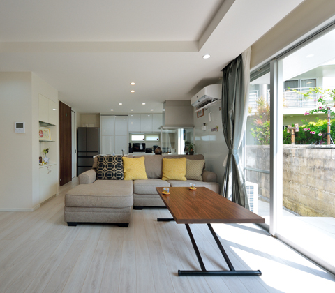 家事楽動線で空間もスッキリ 20歳で始めた家づくり