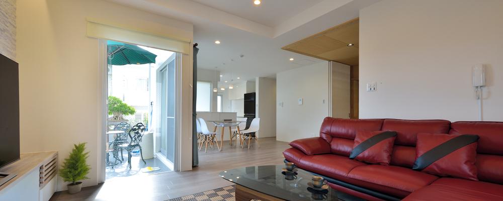 住居空間と宿が 同居する おもてなしハウス