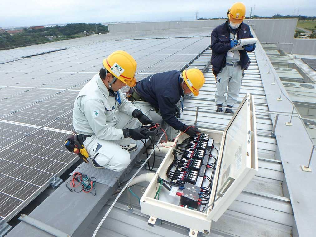 台風後にトラブルが多発!太陽光設備の稼働に欠かせないメンテナンスパックが好評