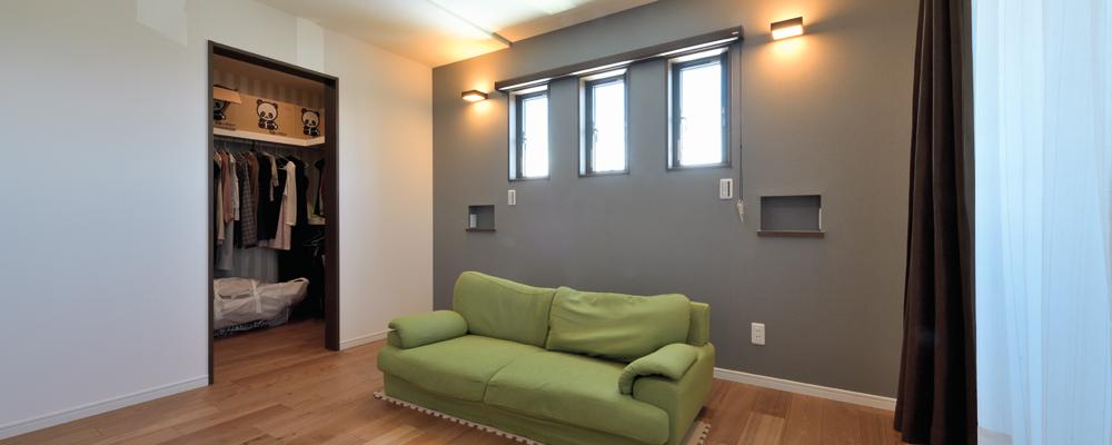 自然光が降り注ぐ開放感と回遊型の動線で暮らし心地UP!