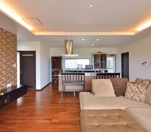 住みたい家のイメージを 表情豊かにデザインされた空間