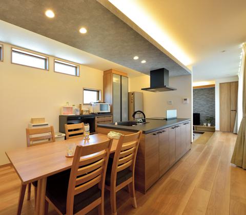 フランク・ロイド・ライトの設計思想を取り入れた オーガニックハウス